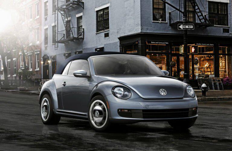 2017 VW Beetle Convertible retro modern design
