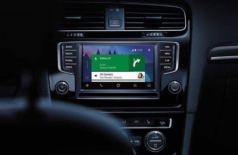 2017 Volkswagen Golf R Touchscreen Display