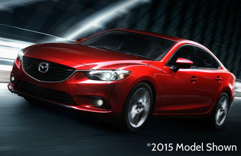 Side profile of 2015 Mazda6