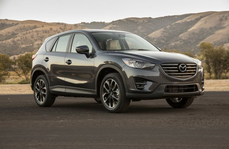 Front and side view of 2016 Mazda CX-5