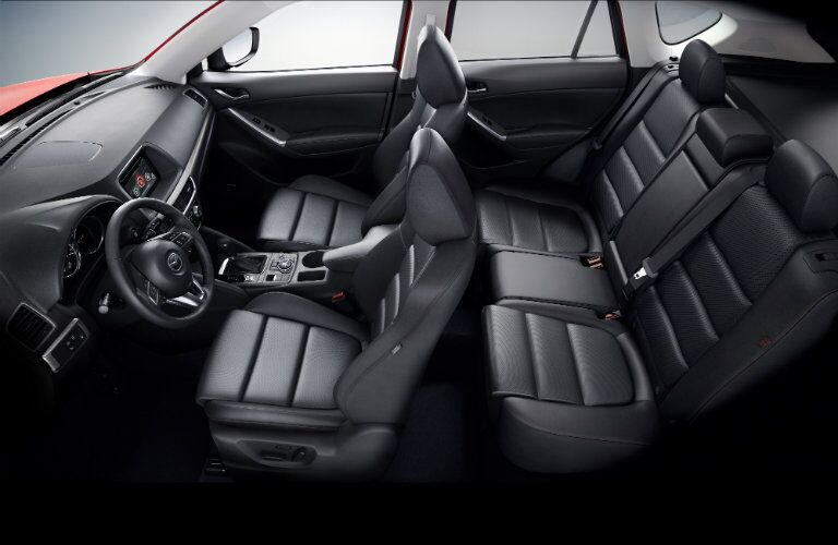 Seats in 2016 mazda CX-5