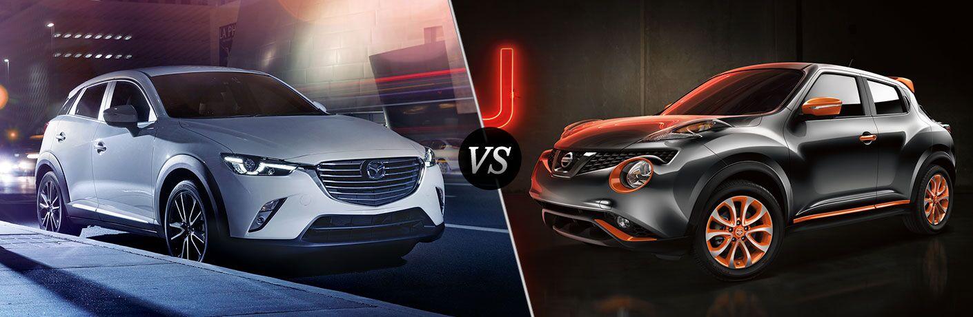 2017 Mazda CX-3 vs 2017 Nissan Juke
