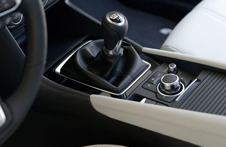 2017 Mazda Mazda3 control knob