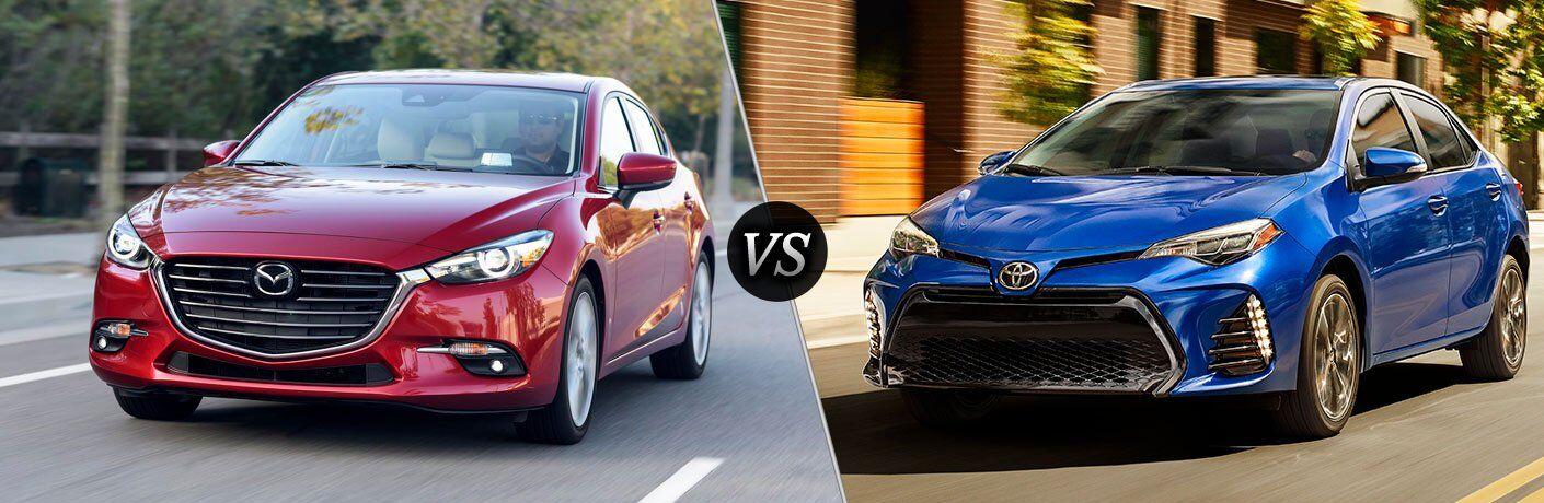 2017 Mazda Mazda3 vs 2017 Toyota Corolla