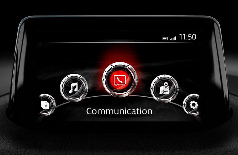 2018 Mazda3 infotainment system