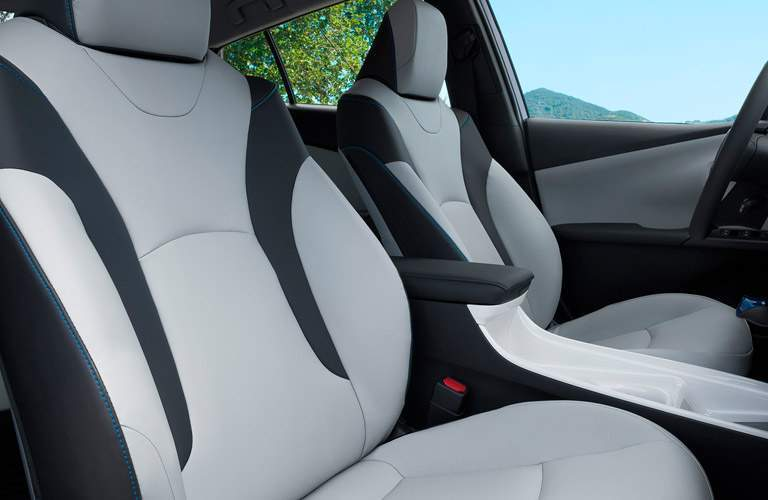 2017 Toyota Prius seat trimming options
