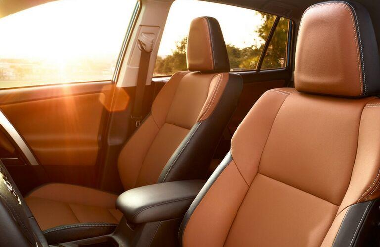 2017 Toyota RAV4 interior color options