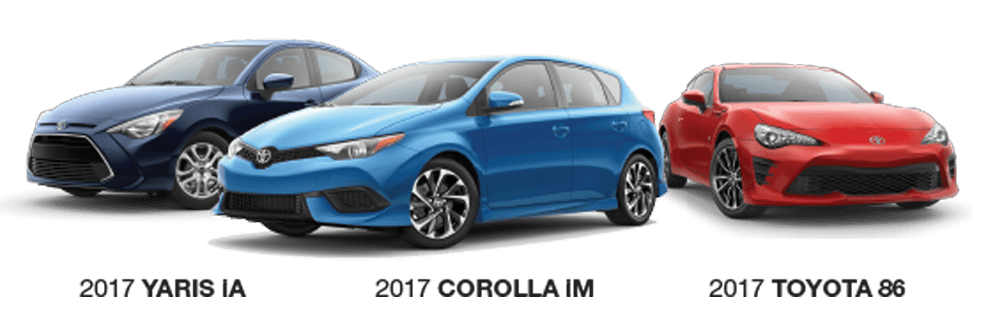 Lovely 2017 Scion Model Lineup