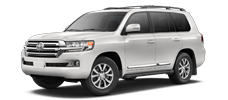 Rent a Toyota Land Cruiser in McGee Toyota