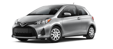 Rent a Toyota Yaris in McGee Toyota