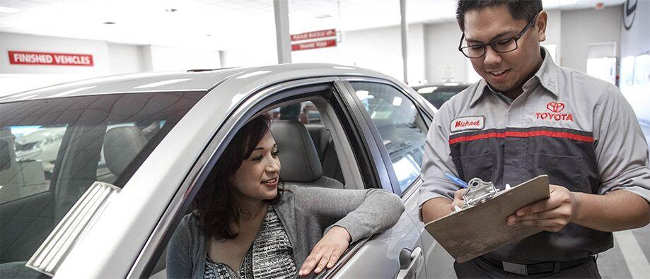 Genuine Toyota service in Novato, CA