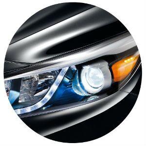 2017 Kia Sedona headlight design