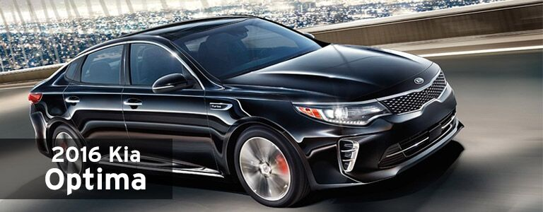 2016 Kia Optima model information