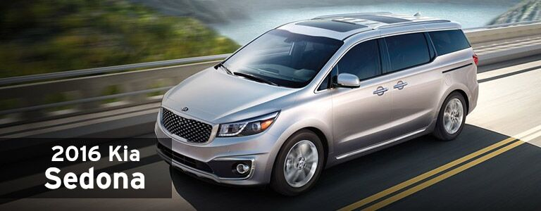 2016 Kia Sedona Model Information