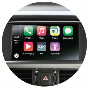 Does the Kia Optima have Apple CarPlay?