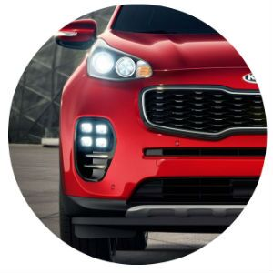 2017 Kia Sportage quad LED fog lights