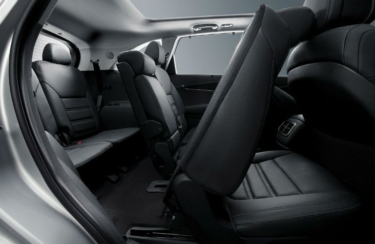 2017 Kia Sorento interior space