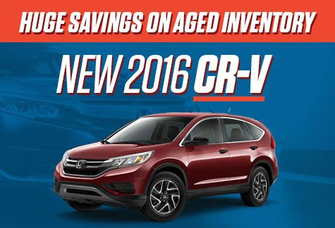 Honda CR-V Aged Inventory