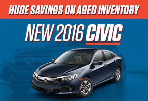Honda Civic Aged Inventory