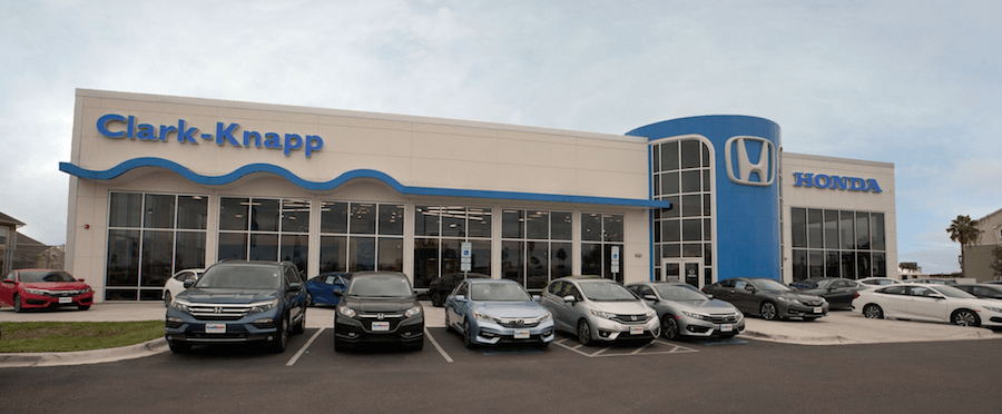 Clark Knapp Honda service center in Pharr Texas