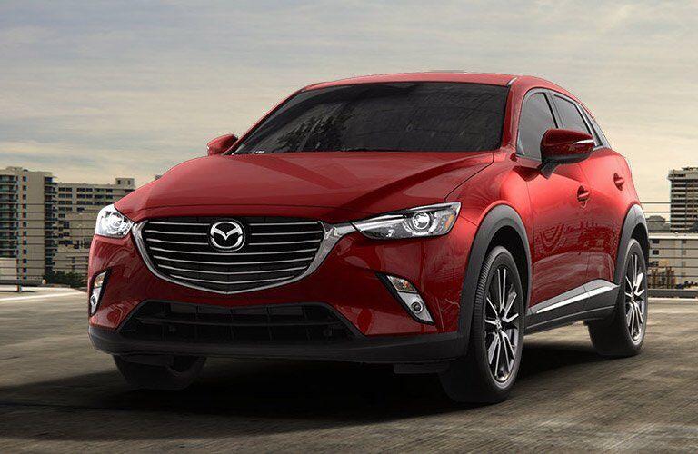 Red 2017 Mazda CX-3