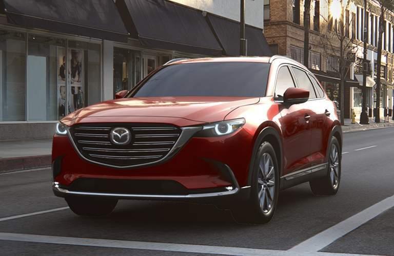Red 2017 Mazda CX-9