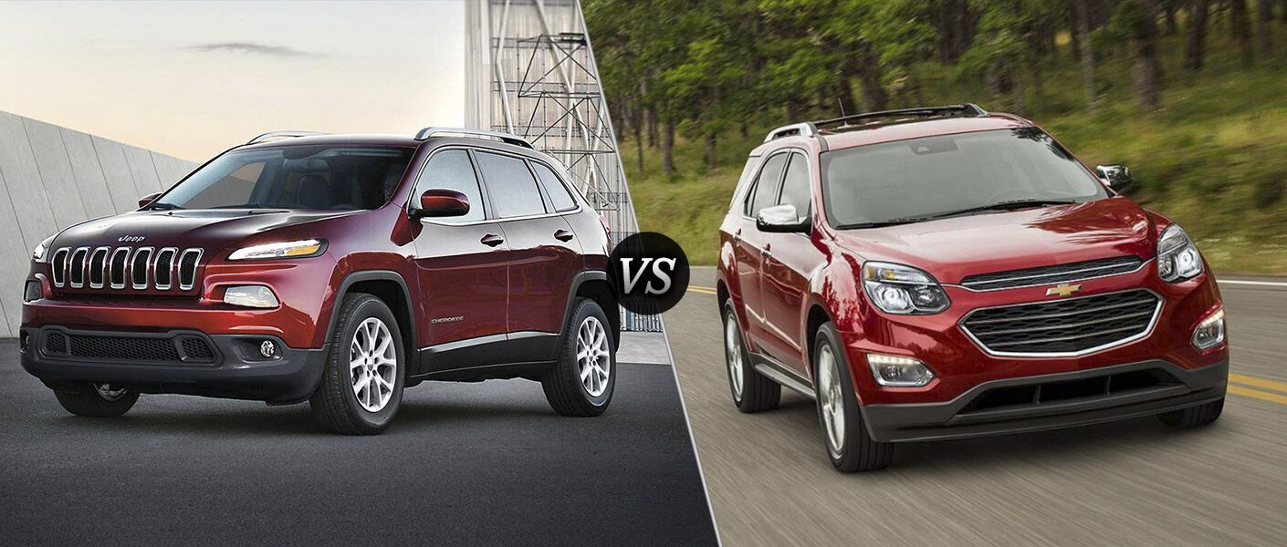 2016 Jeep Cherokee vs 2016 Chevy Equinox
