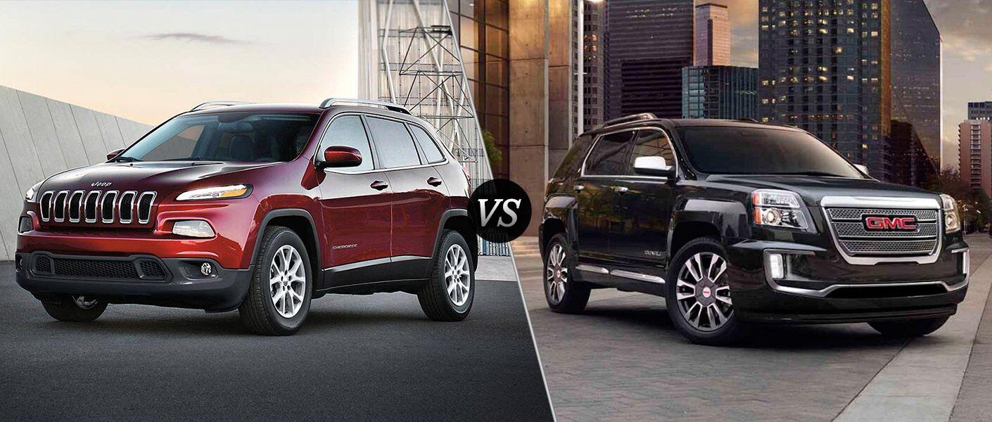 2016 Jeep Cherokee vs 2016 GMC Terrain