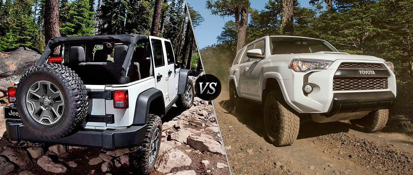 2016 Jeep Wrangler Unlimited vs 2016 Toyota 4Runner