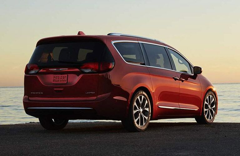 rear view of the 2017 Chrysler Pacifica