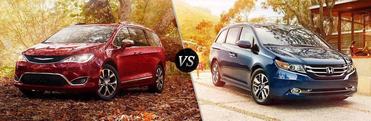 2017 Chrysler Pacifica vs 2017 Honda Odyssey