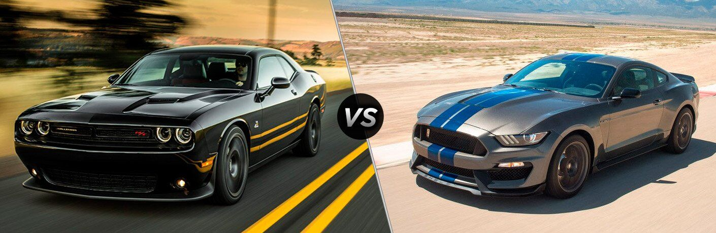 2017 Dodge Challenger vs 2017 Ford Mustang