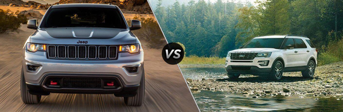 2017 Jeep Grand Cherokee vs 2017 Ford Explorer