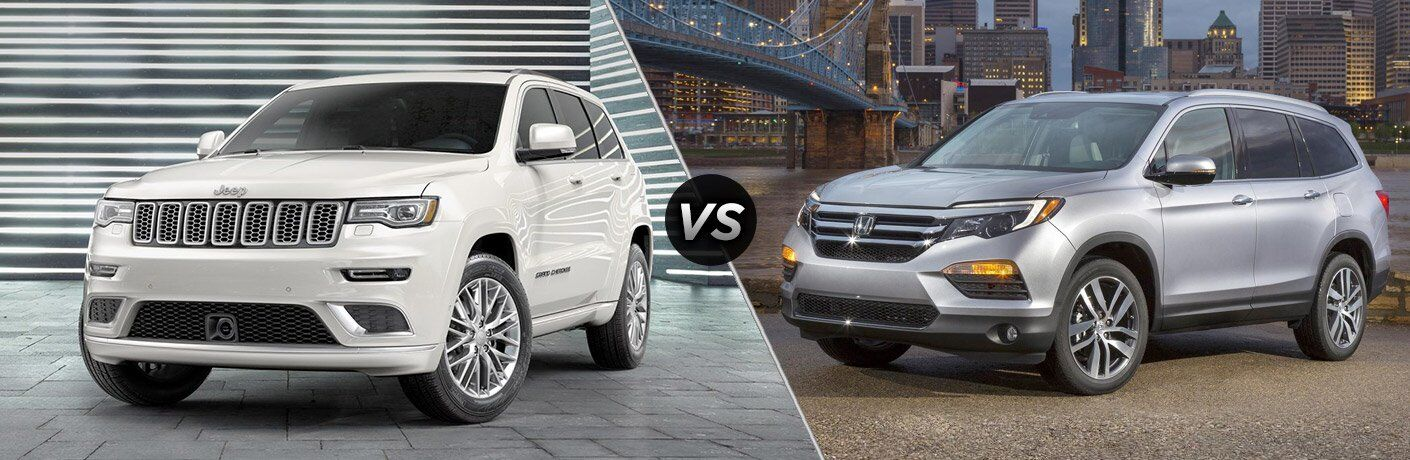 2017 Jeep Grand Cherokee vs 2017 Honda Pilot