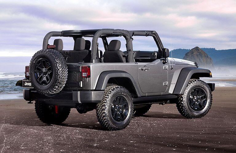 2017 Jeep Wrangler engine performance