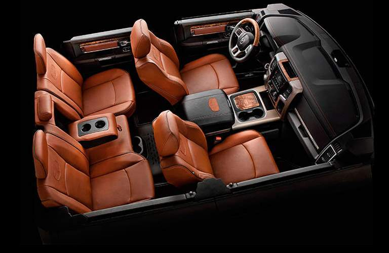 interior seating on a model of the 2017 Ram 1500 like the Crew Cab