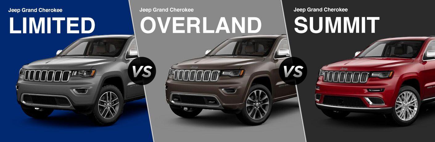 Vs 2018 jeep grand cherokee