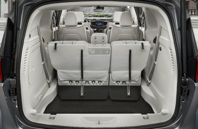 2019 Chrysler Pacifica Hybrid interior seating