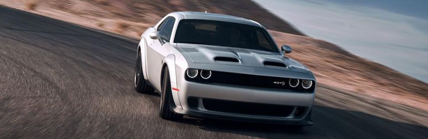 Silver 2019 Dodge Challenger