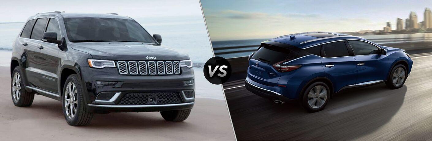 2019 Jeep Grand Cherokee vs 2019 Nissan Murano