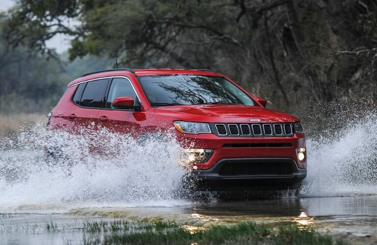 Red 2019 Jeep Compass
