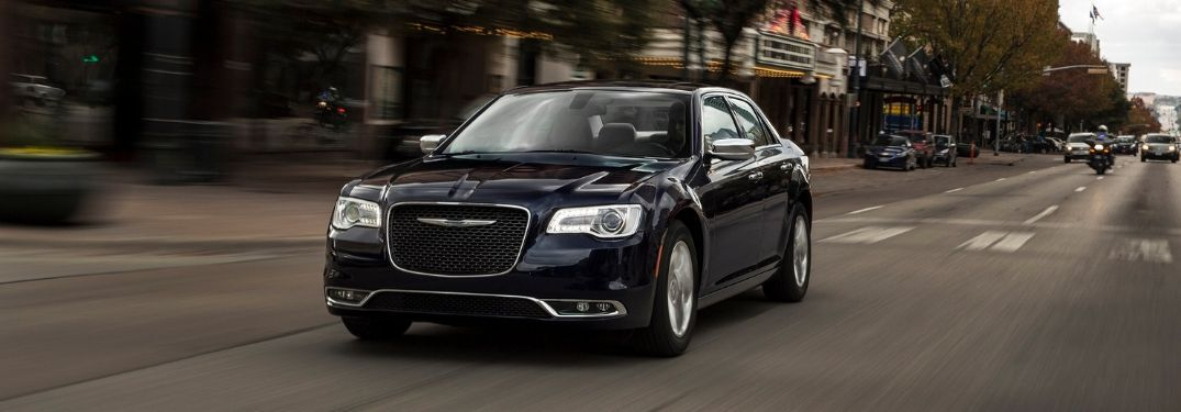 2020 Chrysler 300 on city street