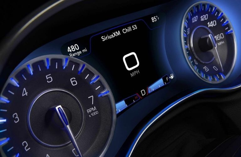 2020 Chrysler 300 instrument cluster
