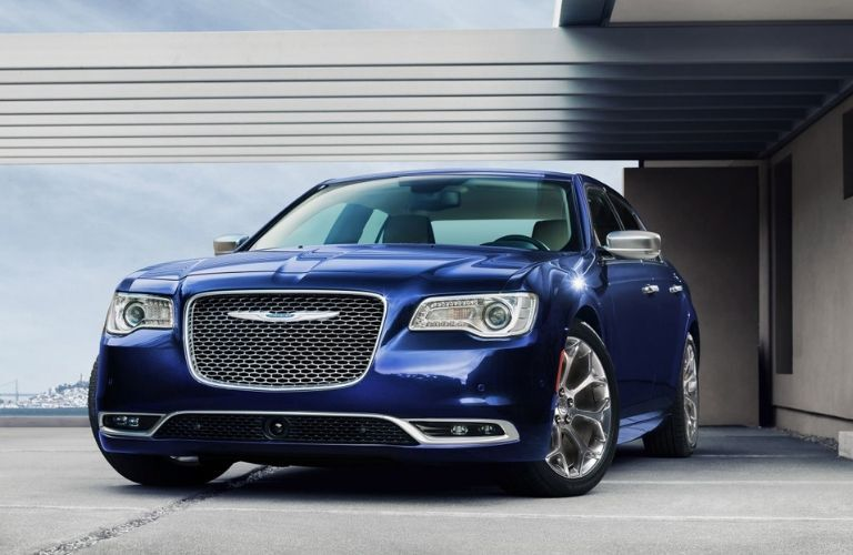2020 Chrysler 300 in residential driveway