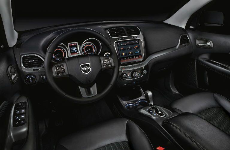 2020 Dodge Journey dashboard and steering wheel