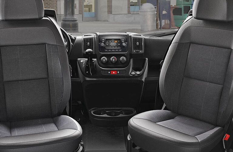 2020 Ram ProMaster front seats