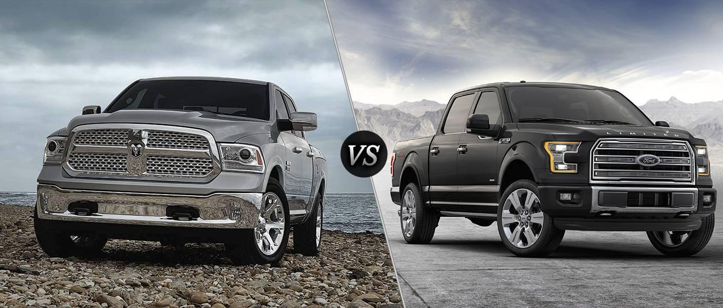 2016 Ram 1500 vs 2016 Ford F-150
