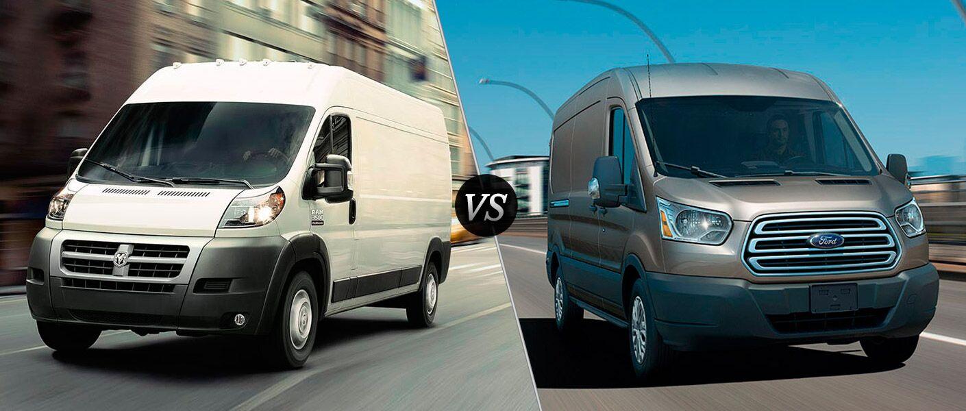 2016 Ram ProMaster vs 2016 Ford Transit
