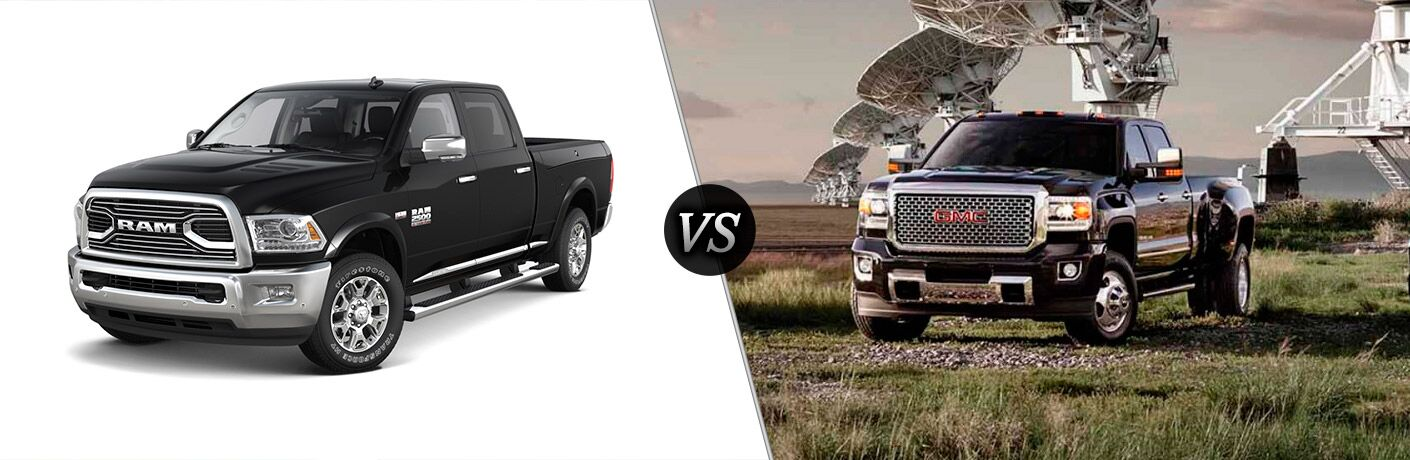 2016 Ram 2500 vs 2016 GMC Sierra 2500HD