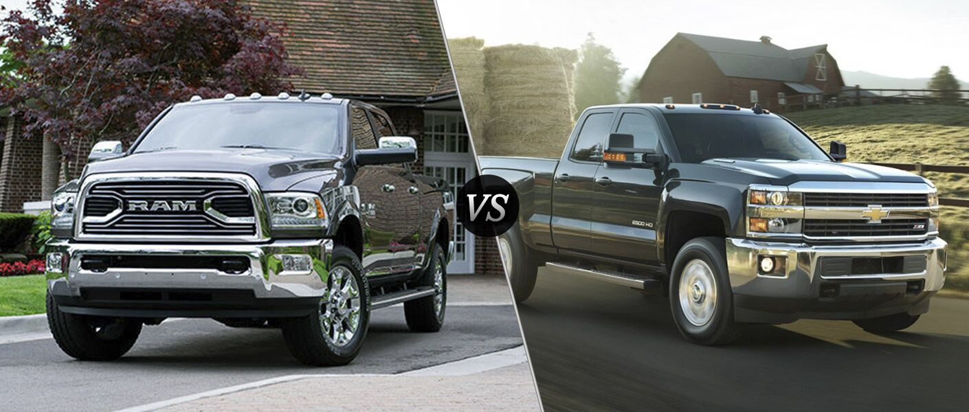 2016 Ram 2500 vs 2016 Chevy Silverado 2500HD
